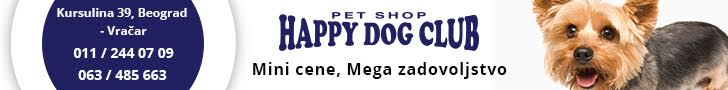 Happy Dog Club - Pet Shop Vračar